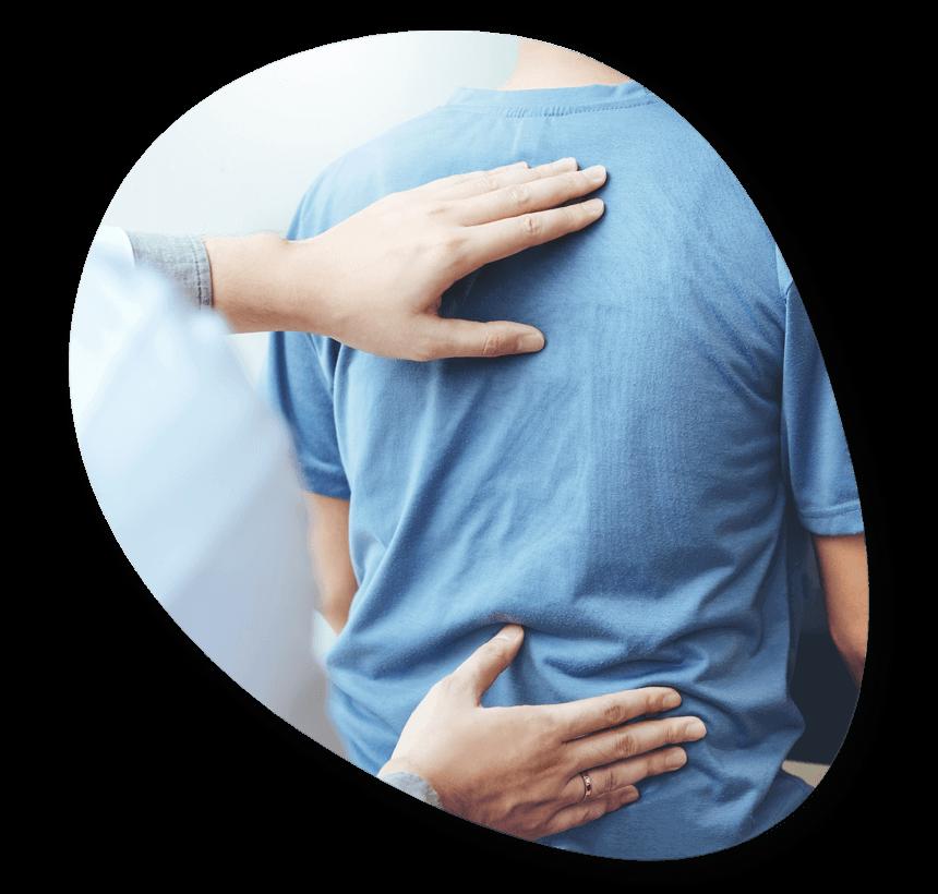 Chiropractic Care Organic Shape